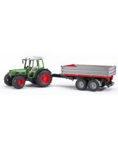 Bruder Fendt 209 S traktor med tilhenger - 02104