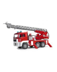 Bruder MAN TGA brannbil med vannpumpe, lys og lyd - 02771