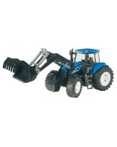 Bruder New Holland T8040 med frontlaster - 03021
