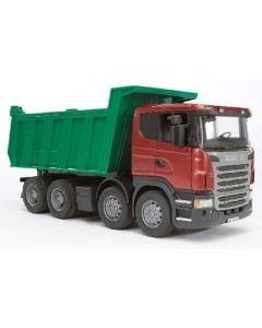 Bruder Scania R-Series lastebil med tippcontainer - 03550