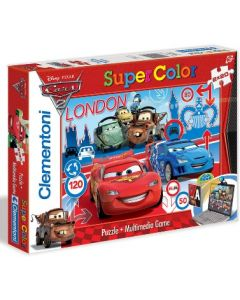 Clementoni Disney Cars 2 2x20 puslespill multimedia