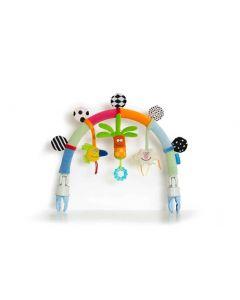 Taf Toys Regnbue babygym med feste