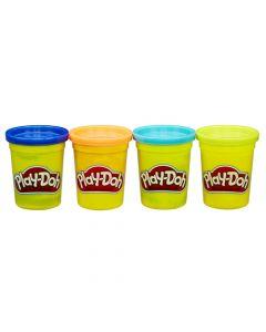 Play-Doh 4 klassiske farger av modelleringsleire 17316