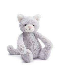 Jellycat katt plysj grå 31cm