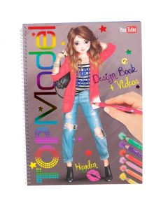 TOPModel designbok med youtube video 18,5x29,5cm