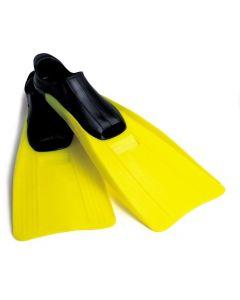 Intex svømmeføtter - str.38-40 - gul