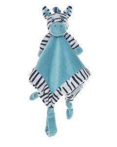 My Teddy koseklut zebra blå 35cm