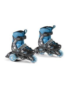 California 2-in-1 Roller Blades - size 28-31 - Flex BlackBoy