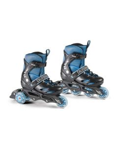 California 2-in-1 Roller Blades - size 32-35 - Flex BlackBoy