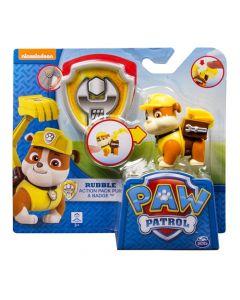 Paw Patrol Action pack 7.6cm - Rubble