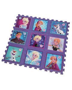 Disney Frozen gulvpuslespill - 9 motiver