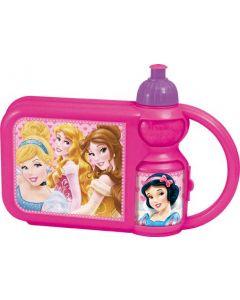 Disney Princess Combo Matboks og Drikkeflaske