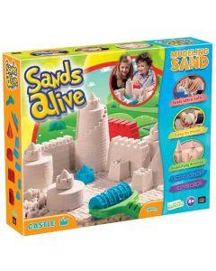 Sands Alive - Castle - 900 gram sand og tilbehør