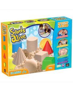 Sands Alive - Classic set - 450 gram og 4 former