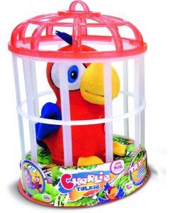 Charlie snakkende papegøye - gjentar det du sier!