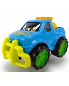 Dickie Toys happy runner 27 cm - blå pick up