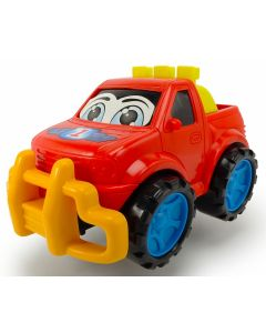 Dickie Toys happy runner 27 cm - rød pick up