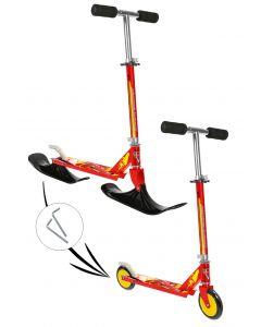 Disney Cars - sparkesykkel med ski - aluminium