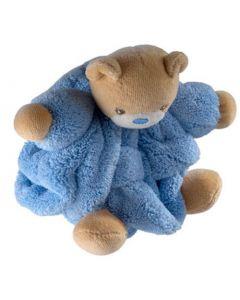 Kaloo blå plysjbamse - 12 cm