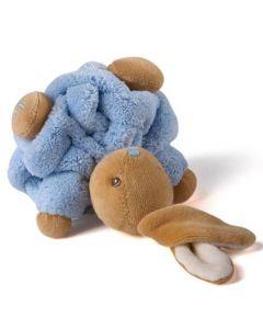 Kaloo blå plysjkanin - 12 cm