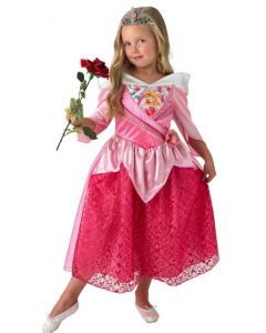 Disney Princess Tornerose Shimmer kostyme 128cm