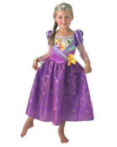 Disney Princess Rapunzel Shimmer kostyme 128cm