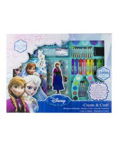 Stort Disney Frozen aktivitetssett - 1000 morsomme deler