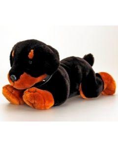 Keel Toys sort hundevalp - 50 cm