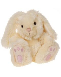 Keel Toys Patchfoots hvit kanin 25cm