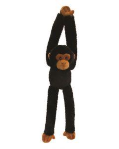 Keel Toys hanging monkeys - sort og brun