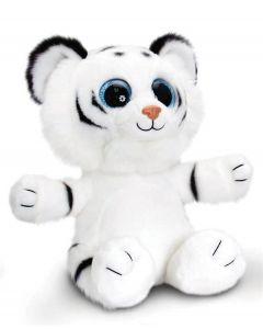 Keel Toys sparkle eyes hvit tiger