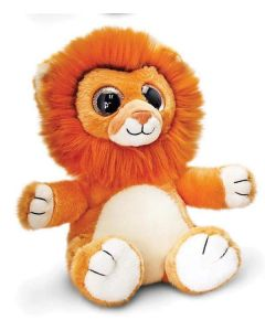 Keel Toys sparkle eyes løve-bamse 25cm