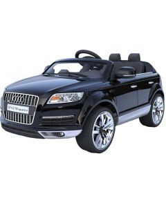 Audi Q7 12V - elbil for barn - sort