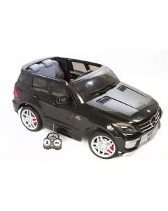 Mercedes ML63 12V - sort - med RC styring