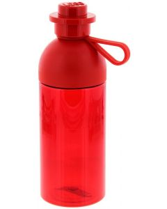LEGO hydration bottle 0,5L - transparent Bright Red