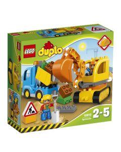 LEGO DUPLO 10812 Lastebil og gravemaskin med belter
