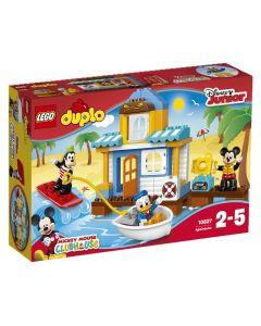 LEGO DUPLO 10827 Mikke og vennene hans i strandhuset