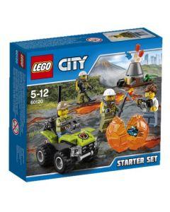LEGO City 60120 Vulkan – Startsett