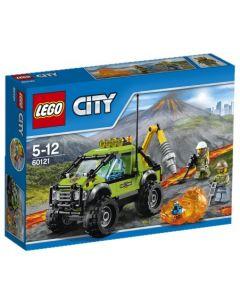 LEGO City 60121 Vulkanforskernes kjøretøy
