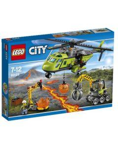 LEGO City 60123 Vulkanforskernes forsyningshelikopter
