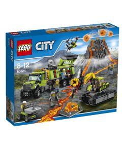 LEGO City 60124 Vulkanforskernes base