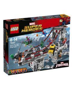 LEGO Super Heroes 76057 Spider-Man: Nettkrigernes sluttoppgjør
