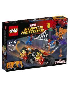 LEGO Super Heroes 76058 Spider-Man og Ghost Rider slår seg sammen