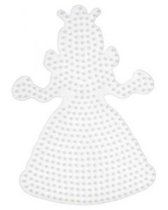 Hama Midi perlebrett - prinsesse