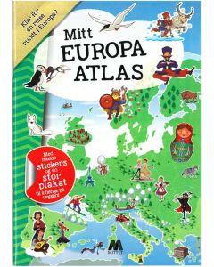Rebus aktivitetsbok - mitt Europa atlas