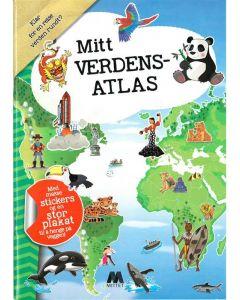 Rebus aktivitetsbok - mitt verdensatlas