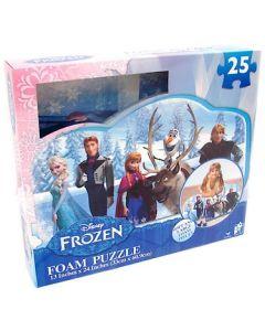 Disney Frozen gulvpuslespill