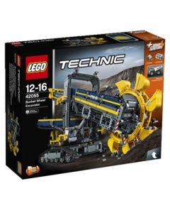 LEGO Technic 42055 Gravemaskin med skovlhjul