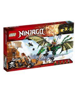 LEGO Ninjago 70593 Den grønne NRG-dragen