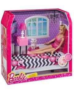 Barbie værelse med dukke - Soverom